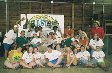 2005 4-H Camp Staff