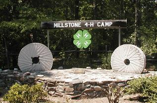 Millstone Camp Entrance