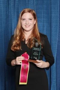 Kaitlyn Johnson Reserve Champion Public Speaking