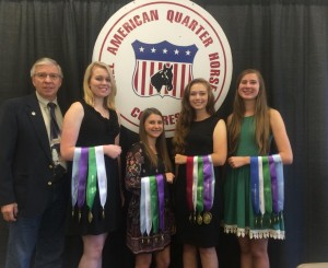 7th Place Horse Judging Team