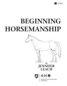 Beginning Horsemanship book cover