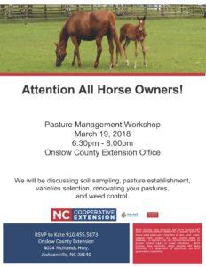 Pasture Management flyer