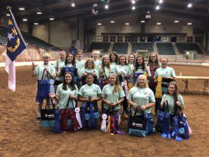 NC 4-H Horse Program Delegation