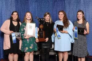 Caitlin Smith (Alamance), Kellianne Lunny (Wake), Beth Morgan (Coach-Wake), Emma Carmichael (Wake), Cassandra Sigmon (Alamance)